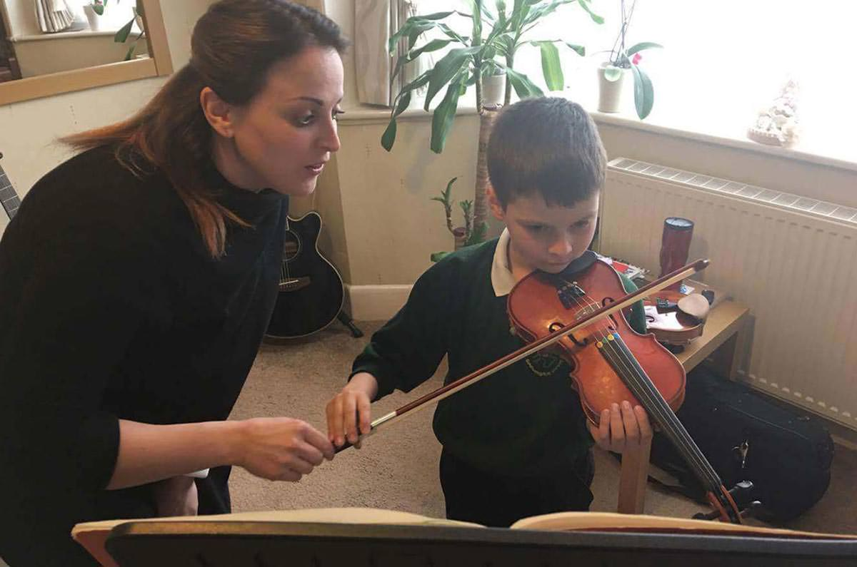 Violin Lessons for Children Southampton