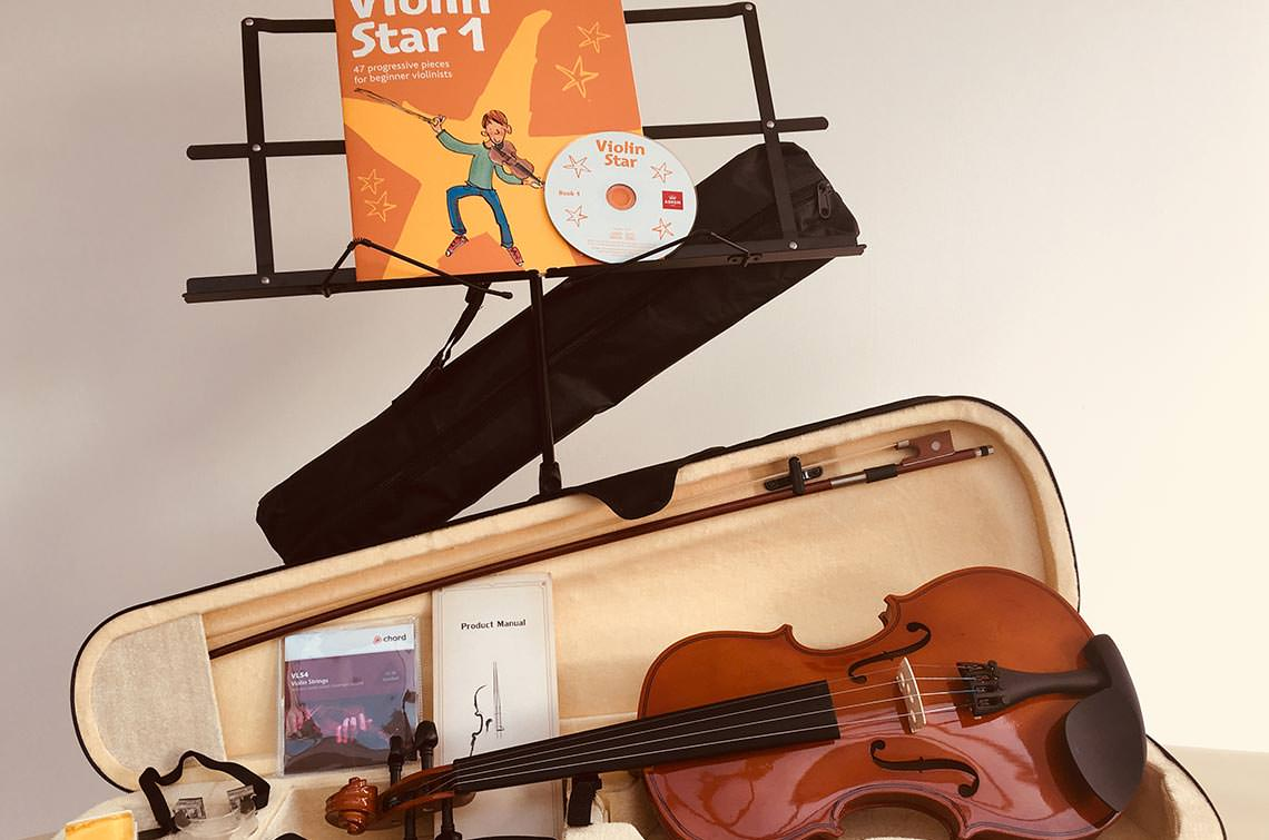 Violin Music and Stand