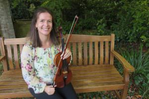 Sarah Sanders Violin Teacher