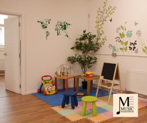 Children's Play Area at Music Maestros Music School