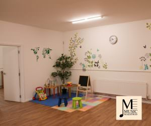 Children's Play Area at Music Maestros Music School