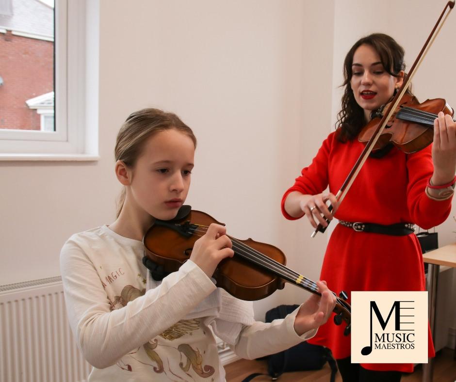 Violin Tuition Music Maestros Music School
