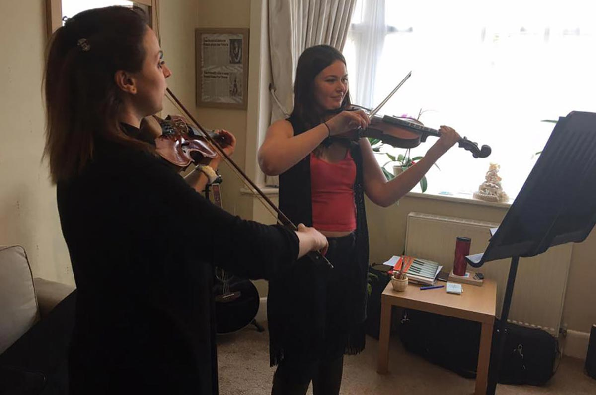online violin lessons for adults