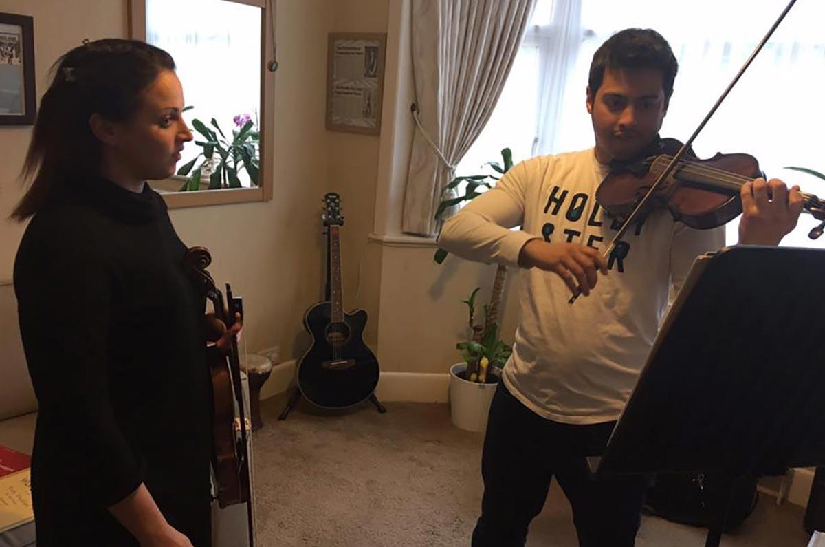 online private violin lessons