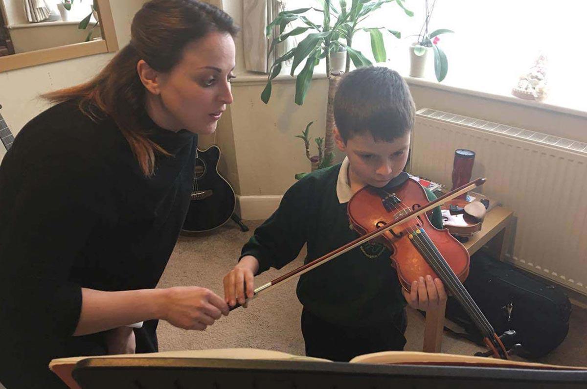 online violin lessons for children